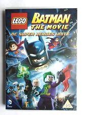 Lego Batman the Movie, DC Super Heroes Unite, PG, DVD, VG, F1