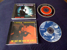 2 CDs Laurie Anderson - Bright Red (1994) & The Ugly One With The Jewels (1995)