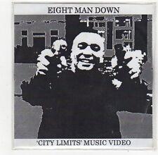(FO708) Eight Man Down, City Limits - DJ DVD