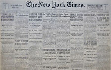 3-1933 March 26 CITY BEER SHORTAGE FEARED BY BREWERS. PROHIBITION. BEER BILL
