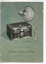 Vintage Montgomery Ward Electronic Equipment Catalog 1948-49 (L300)