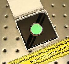 "CVI-MELLES GRIOT DICHROIC MIRROR 488nm HR 405nm AR CONFOCAL MICROSCOPE OPTIC 1"""