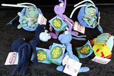The Disney Store - Mini Bean Bag - A Bug's Life - Lot of 7