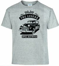 T-Shirt,Opel Olympia ,Auto,Oldtimer,Youngtimer