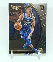2017-18 Panini Select Concourse Markelle Fultz #68 Rookie Card RC Magic 76ers