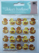 Jolee's Boutique ~YELLOW RUBBER DUCKS REPEATS~ Dimensional Stickers; BABY SHOWER