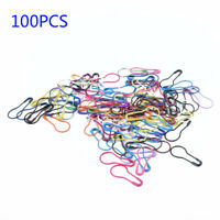 100Pcs DIY Needle Clip Knitting Craft Stitch Crochet Tool Metal Markers Locking