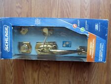 Schlage F360V CAM 505 ACC 605 Front Entry Handle Set Solid Forged Brass NEW