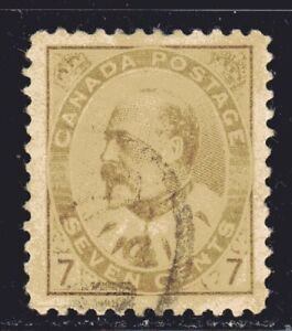 1903-1908 Canada SC# 92-King Edward VII-Lot CU243-Used