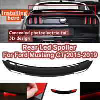 Rear Trunk Roof Spoiler Wing With High Bright LED Light For Ford Mustang GT Hot