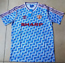 Manchester United Retro football Shirt vintage jersey 1990
