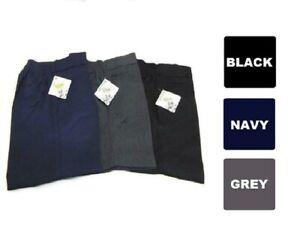 Boys Premium Quality Zip & Clip Teflon Coated School Uniform Short (Made in UK)
