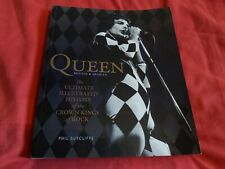More details for queen-pb book-the ultimate illustrated history of the crown kings of rock-rare