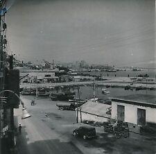 ALGÉRIE c. 1950 - Auto Panorama  Le Port  Oran - DIV 9923