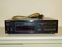 Sony CDP-X77ES High-End CD-Player Schwarz, Laser erneuert, 2 Jahre Garantie
