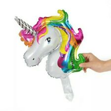 Party : Unicorn Mini Foil Balloon Party Decor 6 pcs