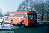 London Transport RF481 Scilly Isles 13th Jan 1979 Bus Photo