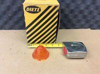 R. E. Dietz Co. NOS AMBER Plastic Lens  TRUCK TRAILER OR RAT ROD P/N: 77-17800