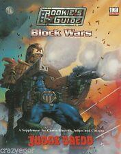 Judge Dredd RPG Rookie's Guide to Block Wars *FS
