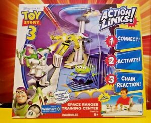 Toy Story 3 Space Ranger Training Center Stunt Set Action Links Extremely Rare