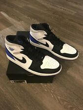 "Nike Men's Air Jordan 1 Mid SE ""UNION Game Royal Black Toe"" 852542-102 US 10-15"