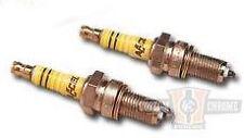 CCI Harley Davidson ACCEL Spark Plugs 2401 Pair Fits Big twin 48-74 BC15875 T