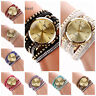 Girls Rhinestone Watches for women Crystal Quartz Bracelet Bangle Wrist Watch