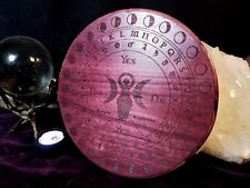 "Goddess w/ Lunar Cycle Pendulum Board - Purpleheart - 9"""