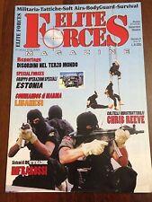 R30> Elite Force Magazine n.4 2001 - Coltelli indistruttibili Chris Reeve
