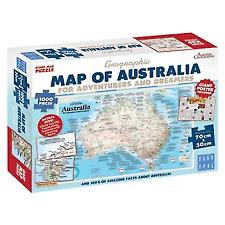Blue Opal BL01882 Adventures & Dreamers Map Puzzle - 1000 Pieces