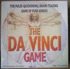 The Da Vinci Board Game, The pulse quickening, brain teasing game of pure genius