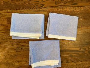Lauren Ralph Lauren Putney French Blue Stsndard Pillowcases (3)