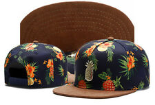 Men's pineapple CAYLER SONS Snapback Adjustable Baseball Cap Hip hop beach Hats