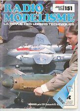 RADIO MODELISME N°151 MINI ASW 17 PAR B / LE COUINEUR / CMB 15 /VOL EN FORMATION