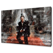 Al Pacino Scarface Tony Montana Canvas Print Picture Wall Art Free Fast Delivery
