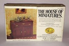 1/12 HUTCH CABINET KIT #40003 X-ACTO THE HOUSE OF MINIATURES OPEN COMPLETE