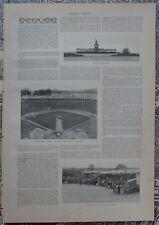 Yale Baseball Field. Bleachers. Grand Stand. Large Print. 1896
