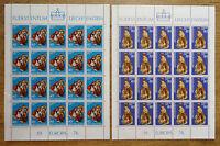 20 x Liechtenstein 642 - 643 KB postfrisch Kleinbogen Satz CEPT Europa 1975 MNH
