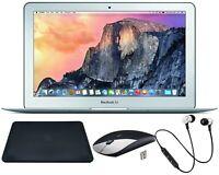 Apple MacBook Air 11.6in - 128 GB - 4 GB RAM - 1.6 GHz - Silver - Bundle!