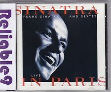 Frank Sinatra & Sextet - Live in Paris CD 26tracks rare-1994 Reprise-Made in USA