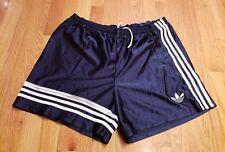 Adidas Vintage Nylon Retro 90's Blue Tricot Athletic Shorts XL