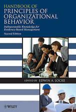 Handbook Of Principles Of Organizational Behavior  BOOK NEW