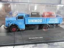 """MERCEDES BENZ LKW L6600 """" Gaggenau """" Pritsche Unimog Universal SP Schuco 1:43"""