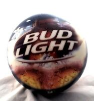 🎳 Bowling Ball Brunswick Bud Light Budweiser Beer Hard to find 6.8lbs UnDrilled