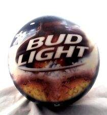 🎳 Bowling Ball Brunswick Bud Light Budweiser Beer Hard to find 6.8lbs UnDrilled