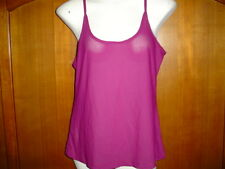 Burgundy Spaghetti Strap Top - size L - 100% Polyester - by Tco.