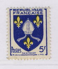 Timbres français neufs jaune