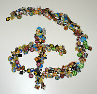 Disney Pin Lot of 30 Pins With 2 Disney Themed Lanyards
