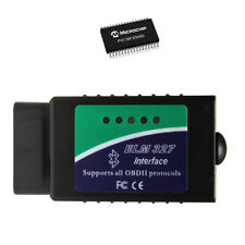 ELM327 Bluetooth OBD2 Scanner with Microchip PIC18F25K80 Microcontroller V1.4