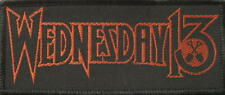 Wednesday 13 patch/écusson # 4 Logo